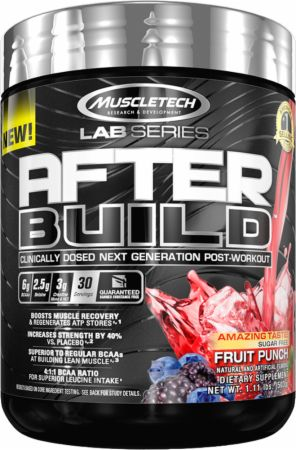 MuscleTech Lab Series After Build Fruit Punch