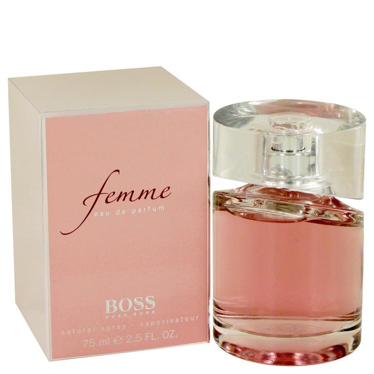 225c2484c2 Boss Femme Perfume By HUGO BOSS FOR WOMEN 2.5 oz Eau De Parfum Spray ...